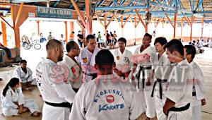 Kala Hitam Pengda Tanah Karo, Dairi dan Pakpak Bharat Persiapkan Atlit Terbaik Untuk Open Turnamen Kyokushin Championship di piala Gubernur NTT