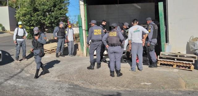 Tenente da PM flagra sogra sendo assaltada e mata bandido a tiros em Cuiabá