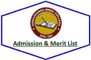 GH College Merit List