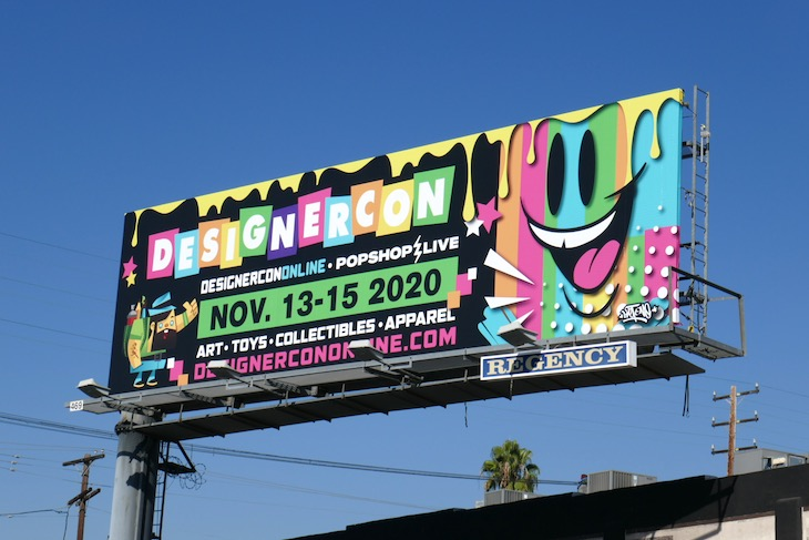 DesignerCon Online 2020 billboard