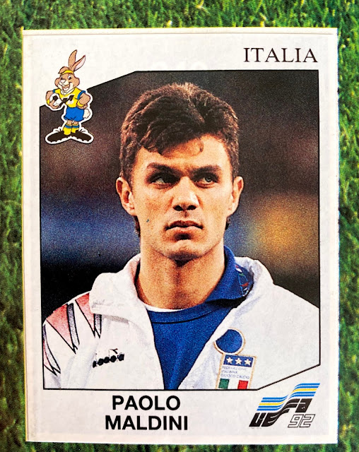 figurine Paolo Maldini Euro 92