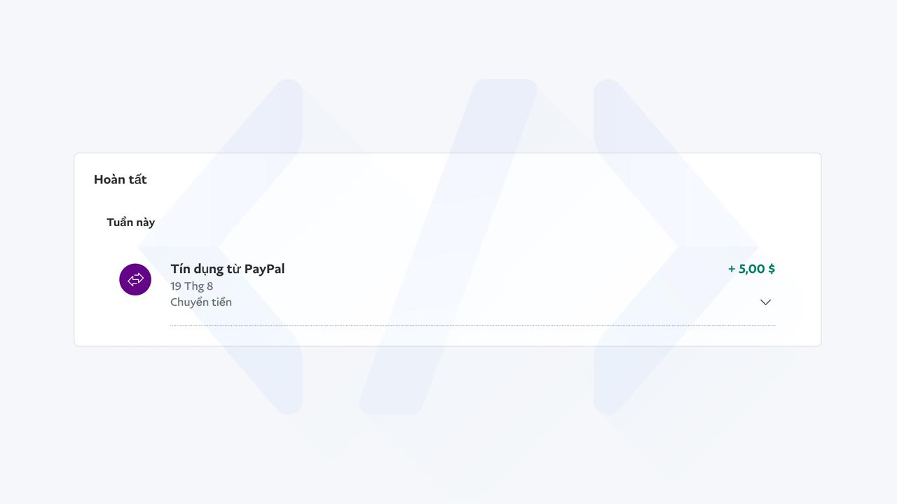 Hướng dẫn nhận 5 đô miễn phí từ PayPal mới nhất bước 3