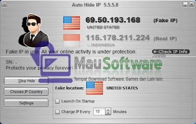 software untuk menyembunyikan IP asli, hide IP, protect IP