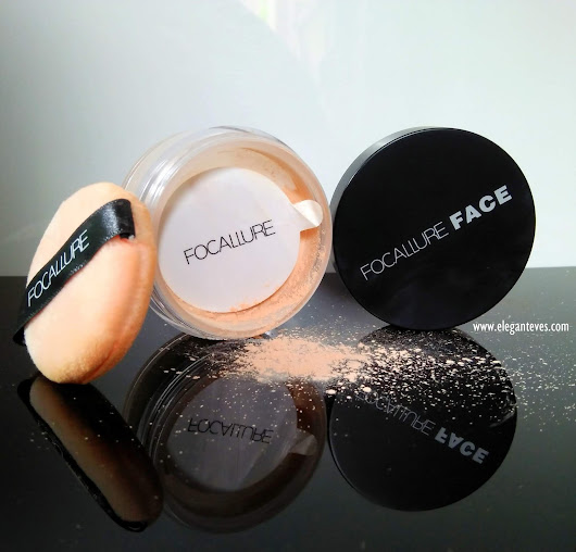 Elegant Eves: Focallure Loose Powder 02 Review, Swatches