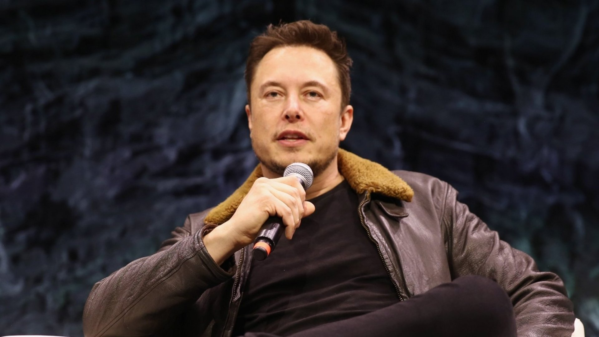 Elon Musk look