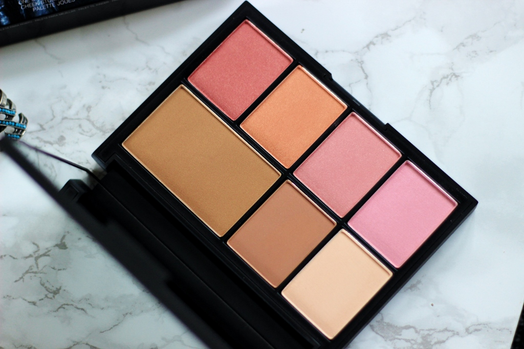 NARS One Shocking Moment Cheek Studio Palette review swatches