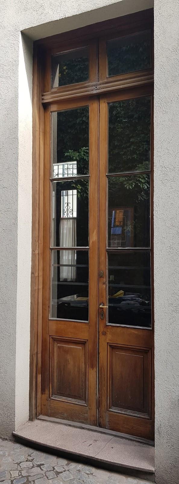 puerta interna casa chorizo