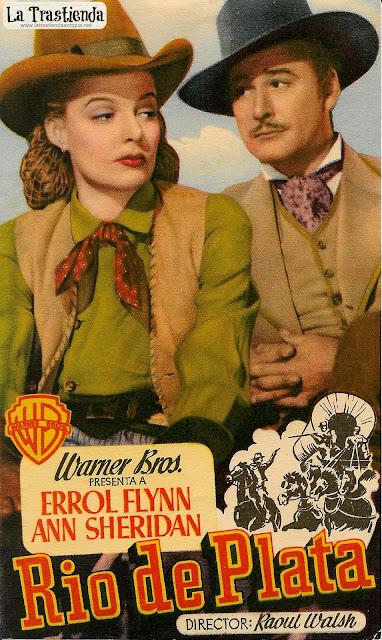 Rio de Plata - Programa de Cine - Errol Flynn - Ann Sheridan