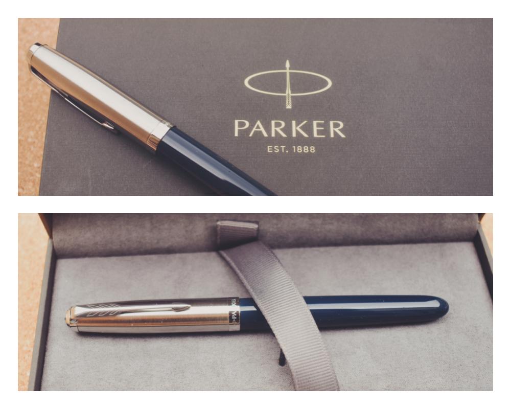 Pen Heaven - Parker 51 Midnight Blue Fountain Pen