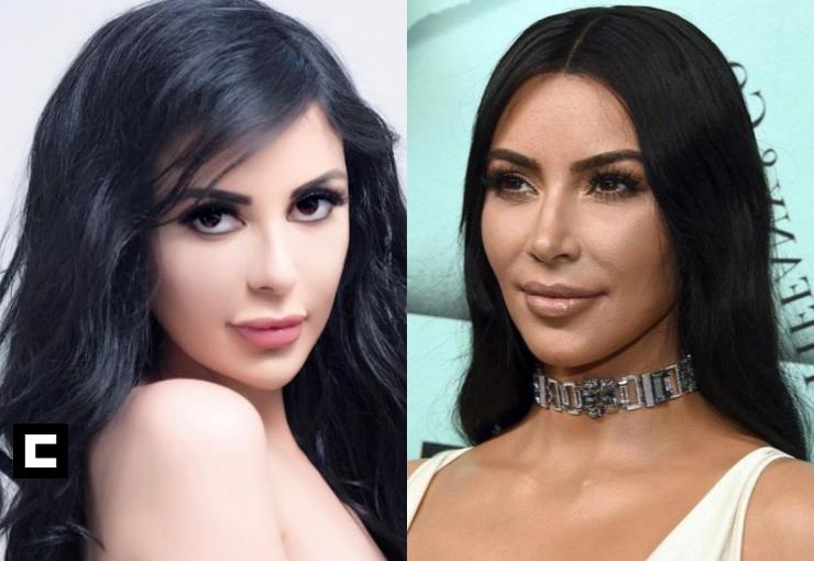 Jennifer Pamplona Kim Kardashian