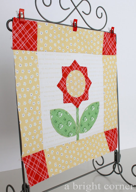 Bloom Sew Along block 4
