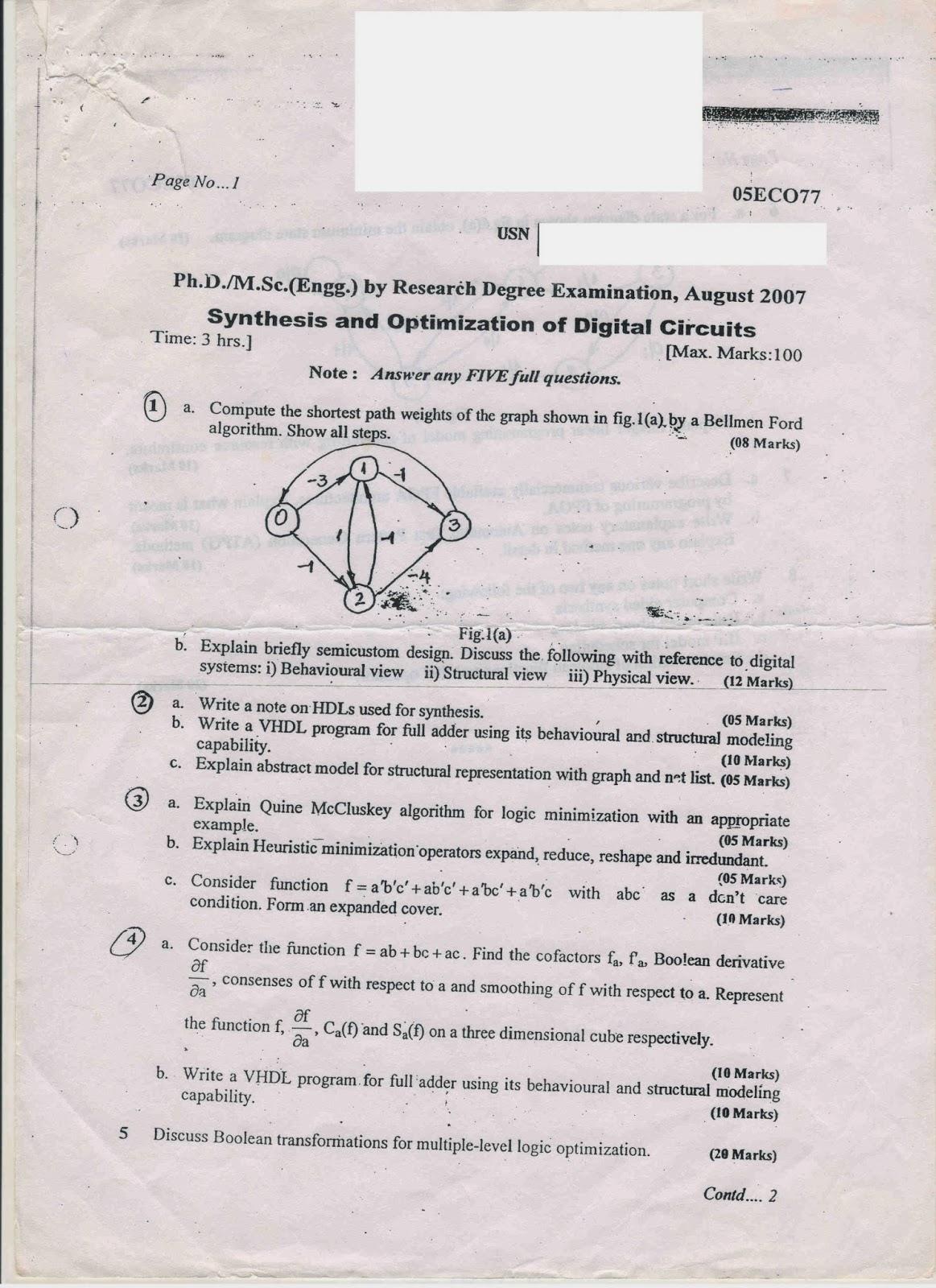 ALL STUDY MATERIALS IN ONE PIT: VTU Mtech (Digital