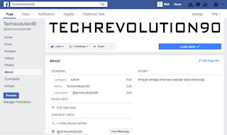Cara mengganti username Facebook Page