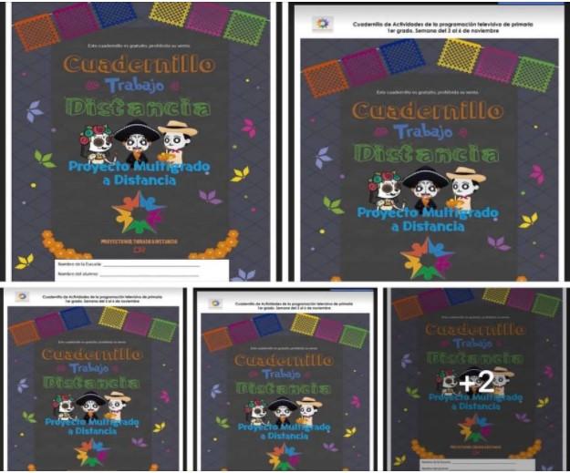 Cuadernillo de Actividades Multigrado Semana 11 del 3 al 6 de noviembre