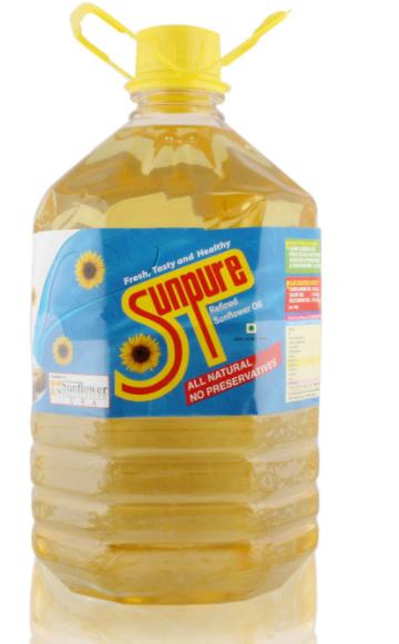 Sunpure Oil, Sunflower, 5L