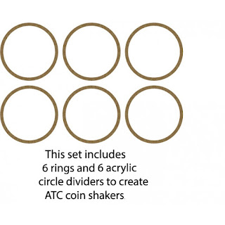 Artist Trading Coin- Coin Rings for Shakers