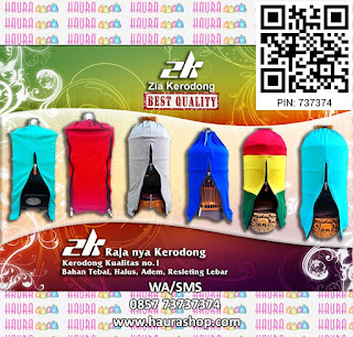 Zia Kerodong (ZK Kerodong) adalah kerodong berbahan kaos berkualitas yang lembut dan tebal, serta menggunakan Resleting pilihan sehingga sangat nyaman untuk dijadikan krodong pilihan untuk burung kesayangan Anda.