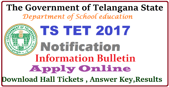 http://www.paatashaala.in/2016/03/telangana-tet-tstet-2016-notification-syllabus.html Apply Online for Telangana TET Notification Released Telangana State Teachers Eligibility Test-2016 Notification and Schedule Released Directorate of School Education, Telangana State has issued Notification for First Telangana TET Notification and Schedule after formation Telangana State. Online applications are invited from the eligible candidates who intend to be teachers for classes I to VIII in schools in Telangana State for appearance in the First Telangana Teacher Eligibility Test (TS-TET , 2016) to be conducted by Department of School Education, Government of Telangana State on 1st May , 2016 in all 10 Districts of the State.