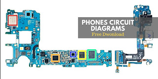 parts of a smartphone schematic diagram of mobile pcb