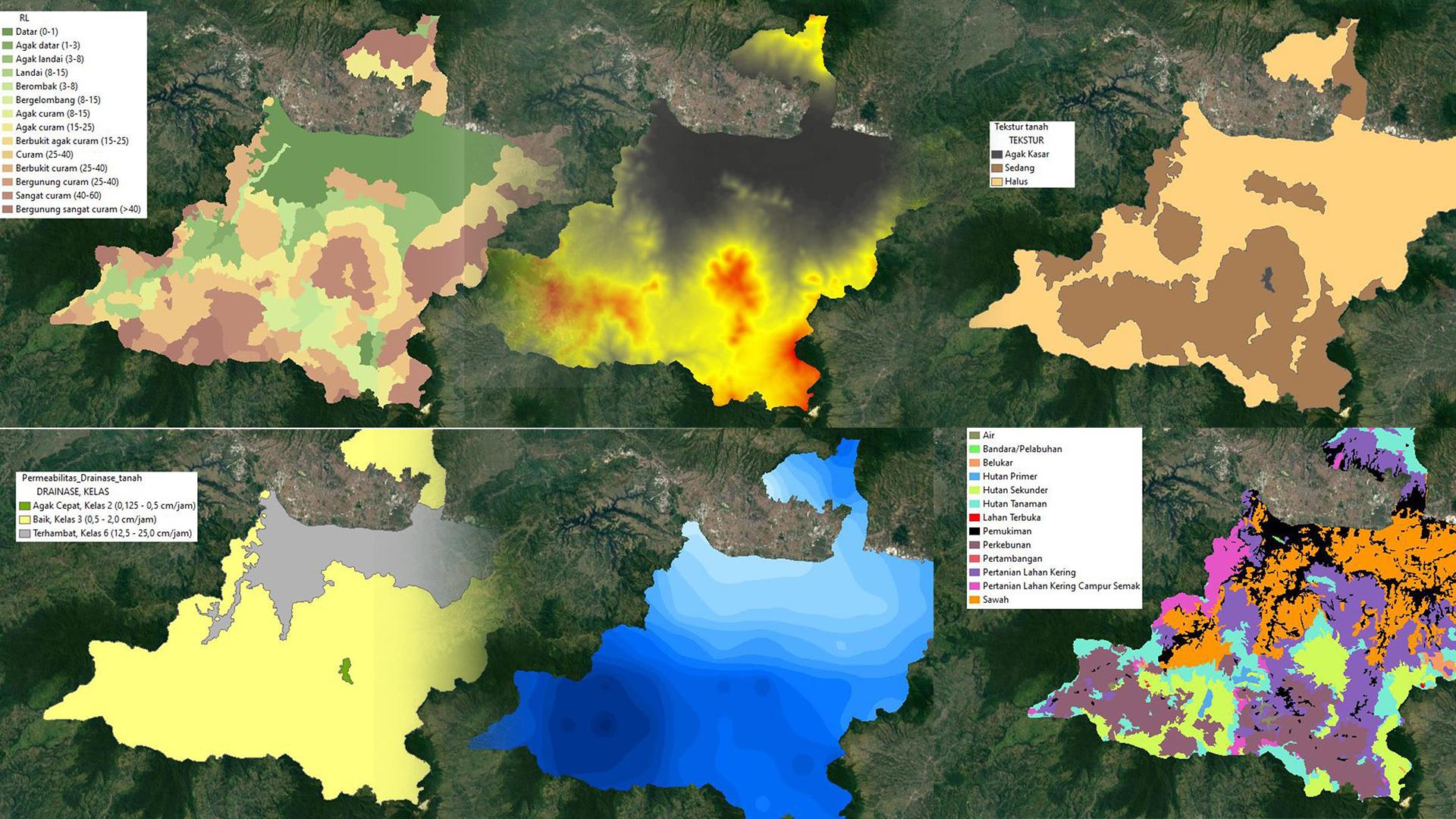 Cara Membuat Peta Rawan Banjir pada ArcGIS