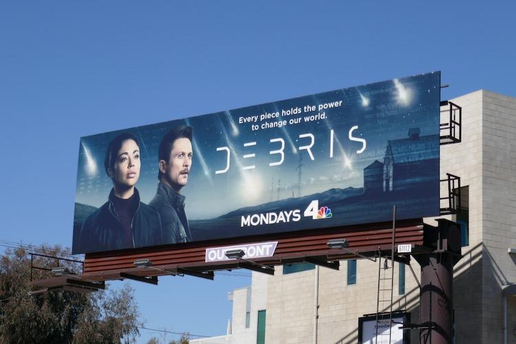 Debris NBC series billboard