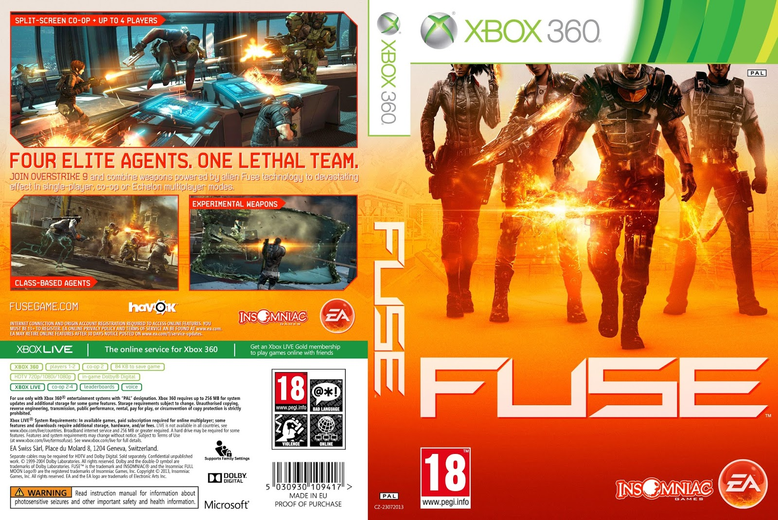 WRG-4500] Fuse Xbox 360 Release Date on