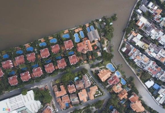 Biệt thự ở Thảo Điền bịt kín lối ra bờ sông Sài Gòn ảnh 3