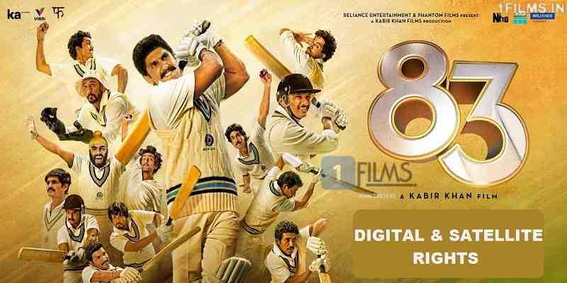 83 Hindi Movie Digital Rights Poster