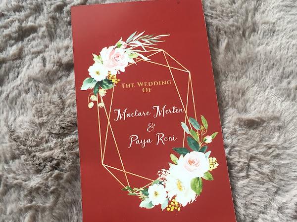 #keriitletowedding: Our wedding invitation card story