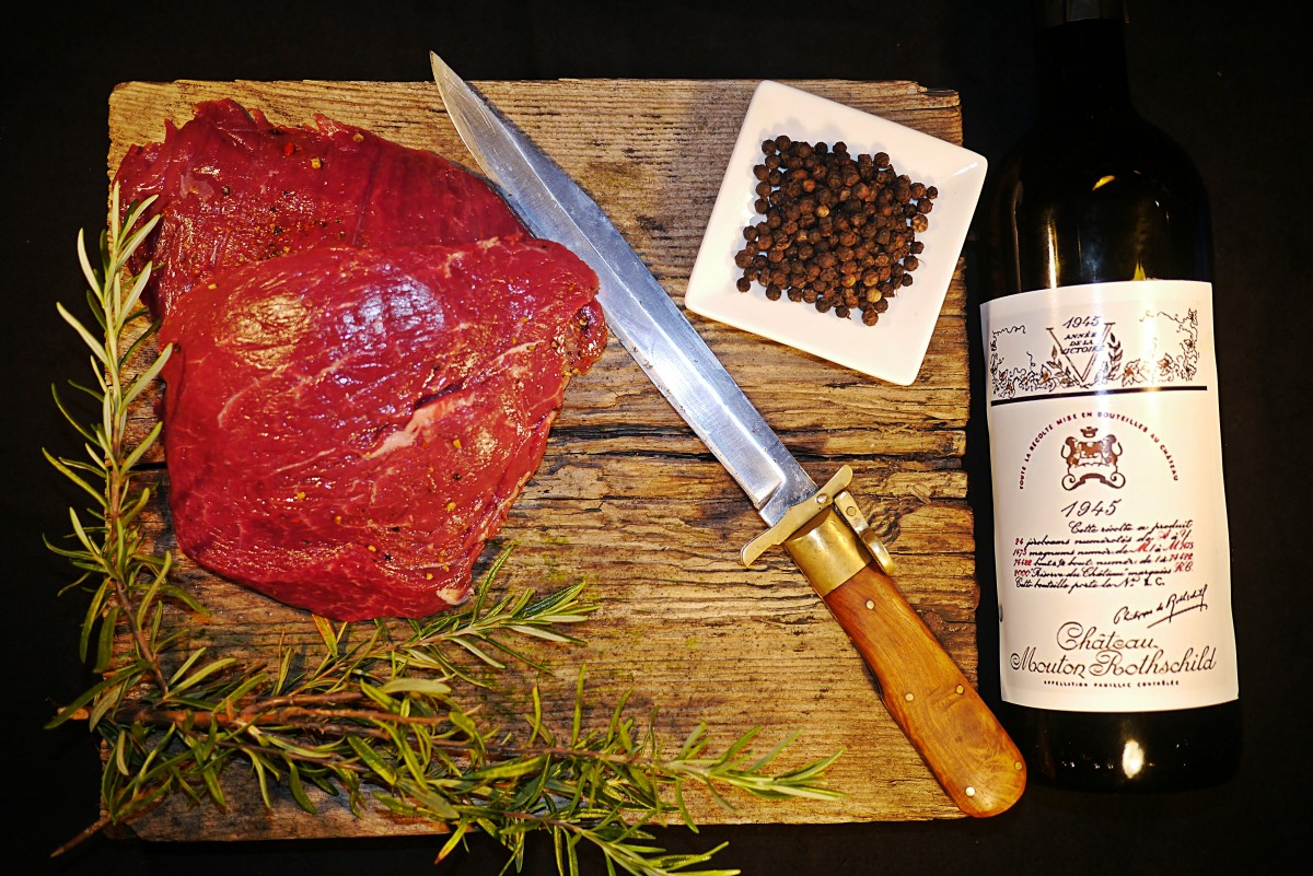 Combine Wine with Barbecue