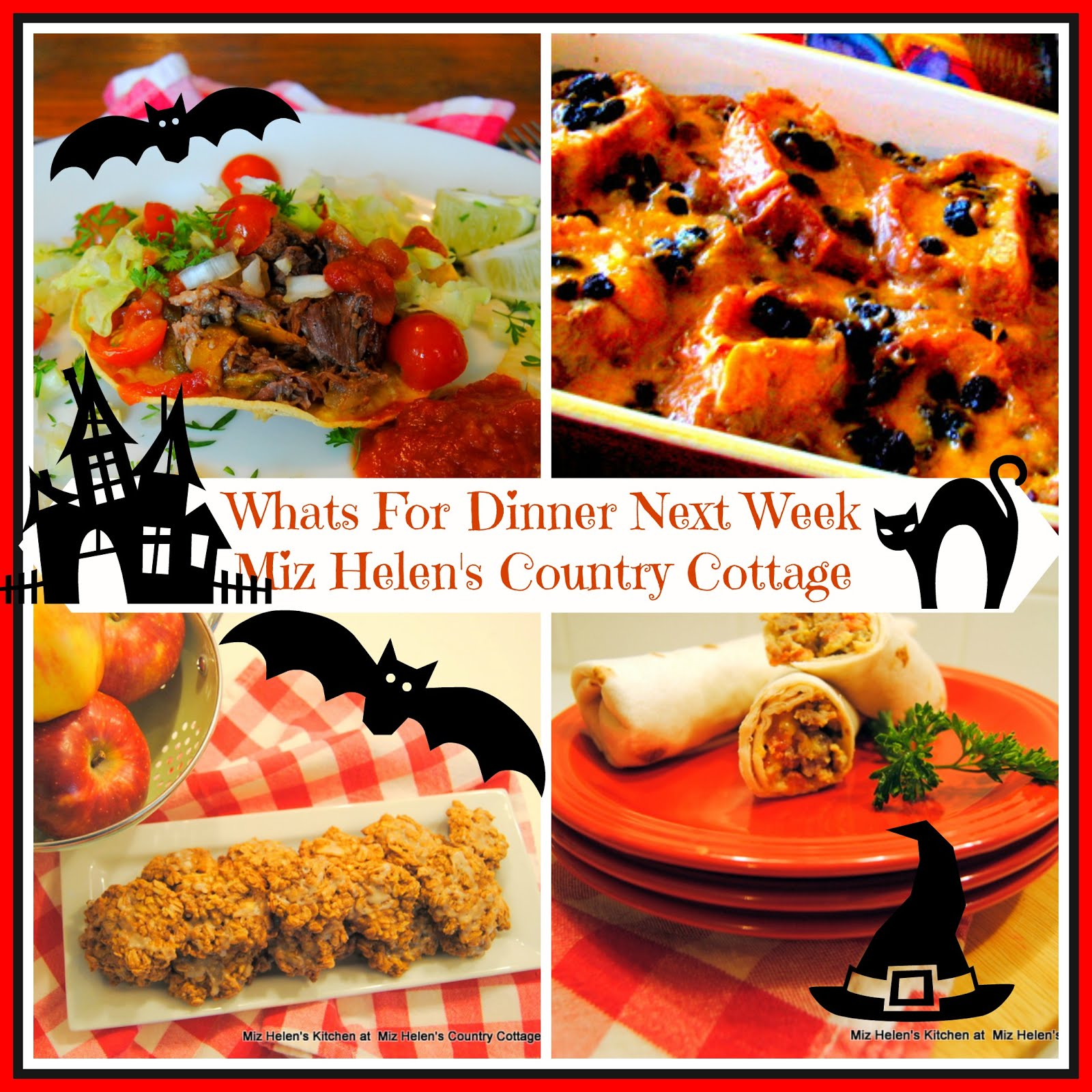 Whats For Dinner Next Week * Week of 10-25-20