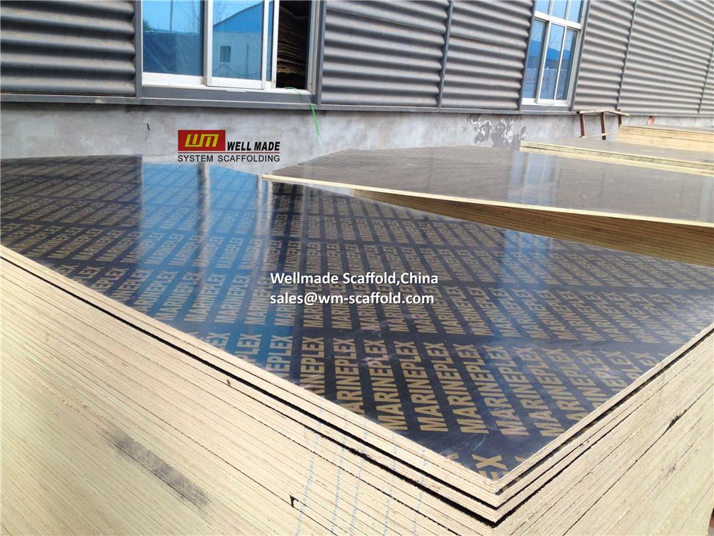 Construction Concrete Formwork Film Faced Plywood - Slab Formwork