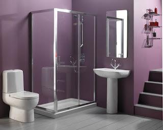 box doccia con porte trasparenti immagine