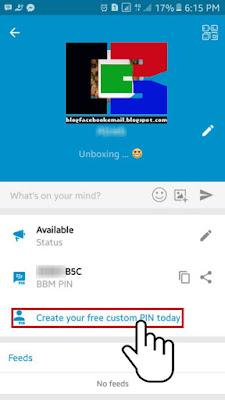 cara membuat ID PIN BBM sendiri