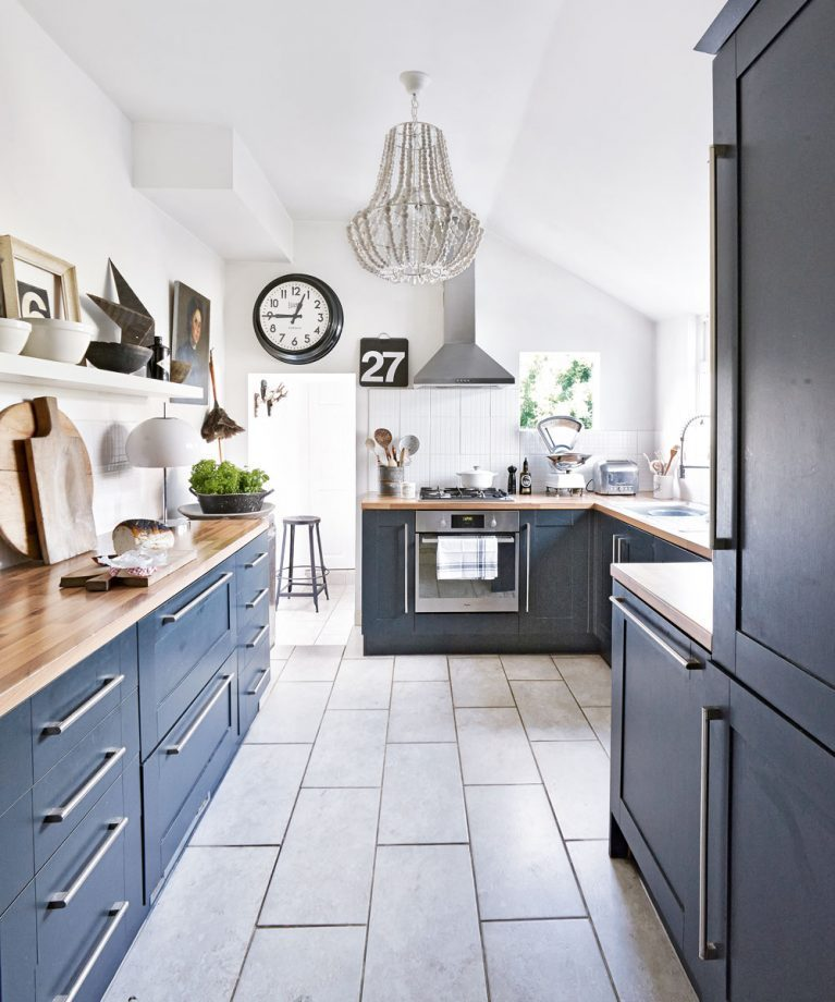 Beautiful Navy Kitchen Ideas