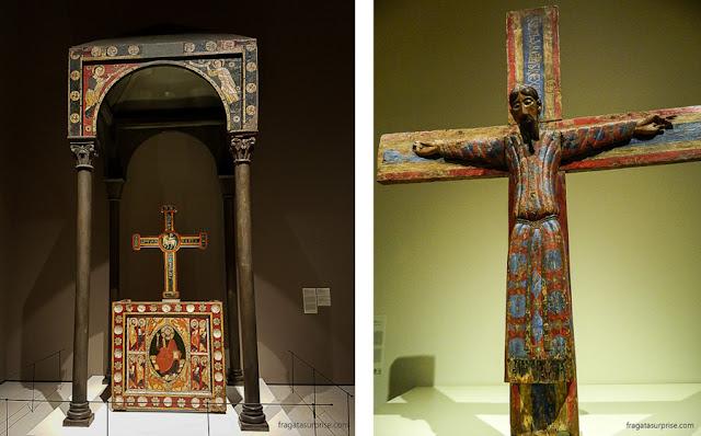 Baldaquino da Igreja de Sant Cristòfol de Toses (Século 13) e a Majestade de Battló