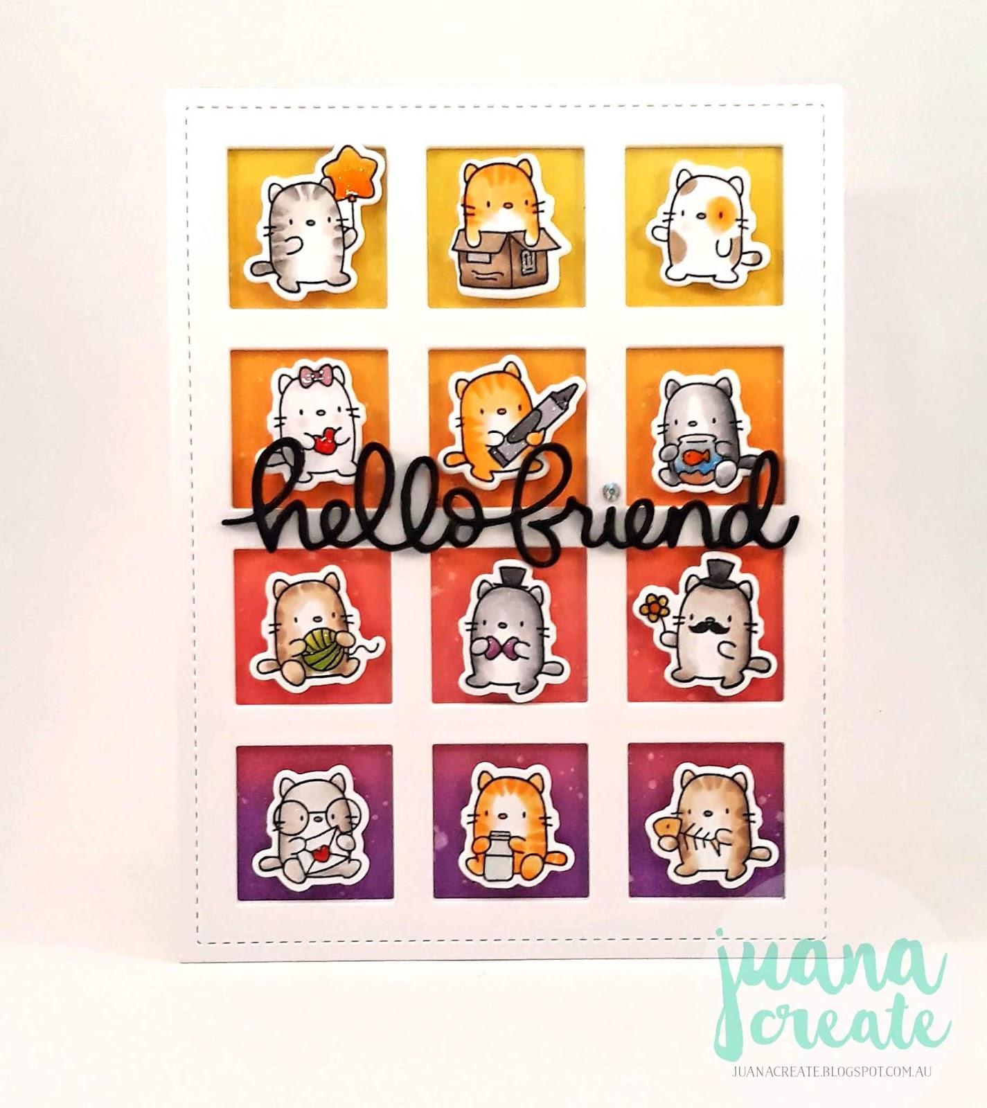 Juana Ambida: Hello Friend - Mama Elephant Mini Cat Agenda