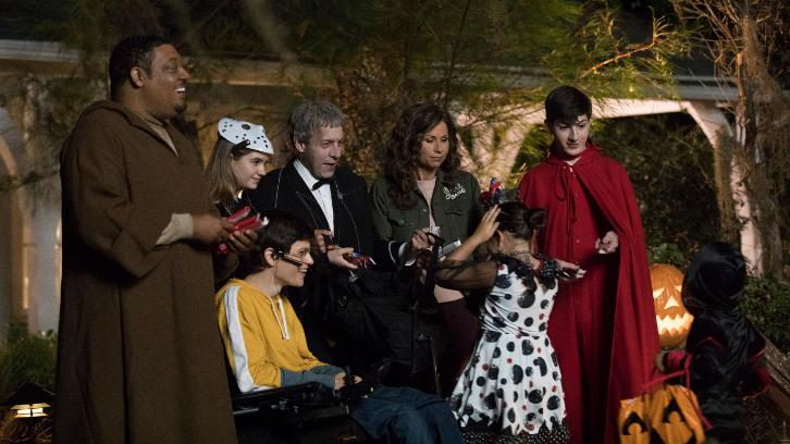 Speechless Halloween Episode 2020 Speechless   I N  INTO THE W O  WOODS   Advance Preview