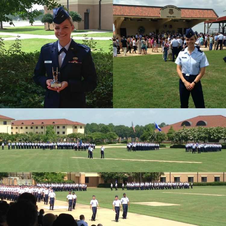 Officer Training School, Air Force OTS Graduation