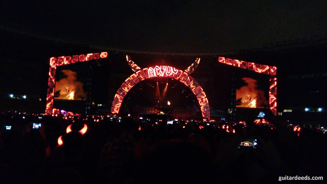 AC/DC Highway To Hell Beginning Vienna Wien 2016 Rock Or Bust World Tour Europe Angus Young