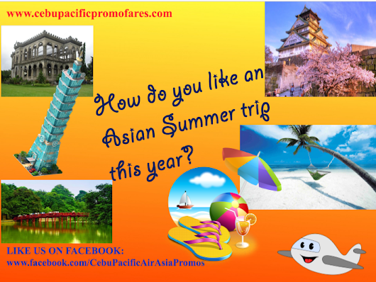 Summer Asian Trip Promo for 2017