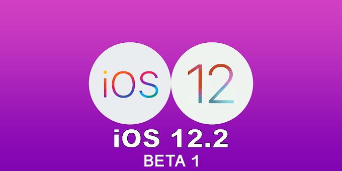 Apple iOS 12.2 Beta 1 released