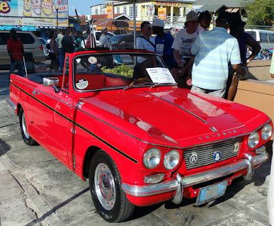 Triumph car at car show
