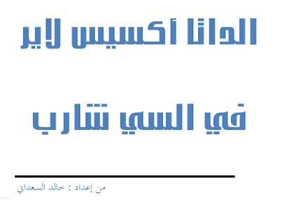 الداتا أكسيس لاير في السي شارب خالد السعدني