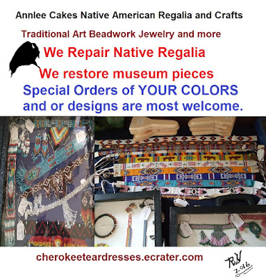 Annlee Cakes beaded regalia