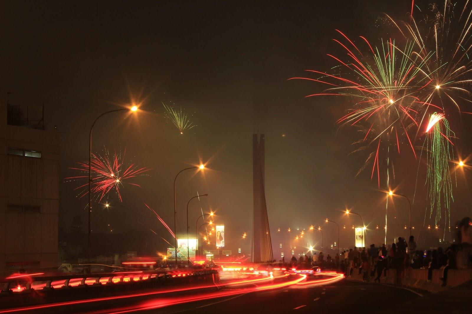 malam tahun baru di bandung