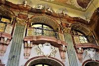 Sala Maksymiliana - balkony dla orkiestry