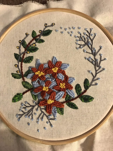 Embroidery photograph
