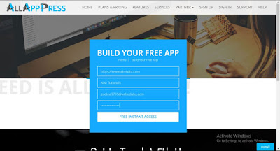 How to create mobile apps for free without coding skills