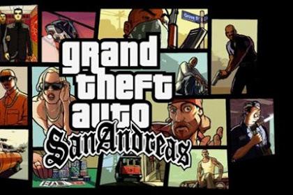 Download Grand Theft Auto (GTA) Lite San Andreas Apk + Data Terbaru